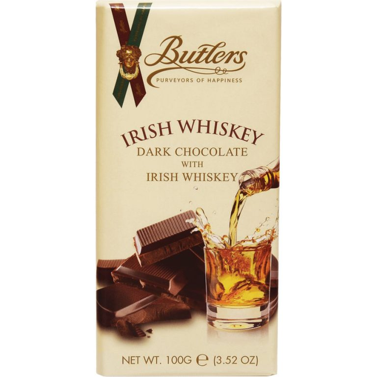 Butlers Irish Whiskey Chocolate Bar