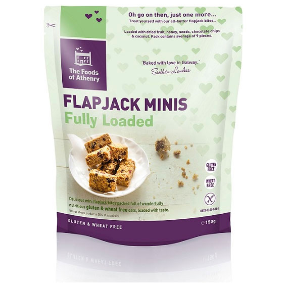The Foods Of Athenry – 'The Works' Flapjacks (Gluten Free)