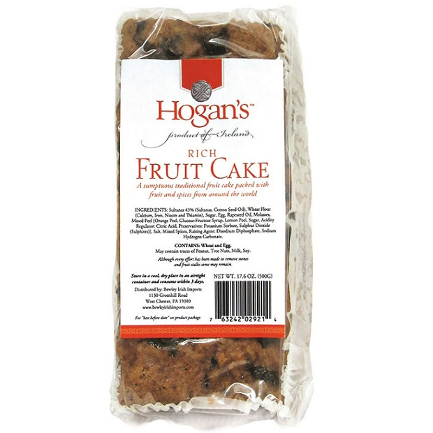 Hogan's Rich No Alcohol Fruitcake