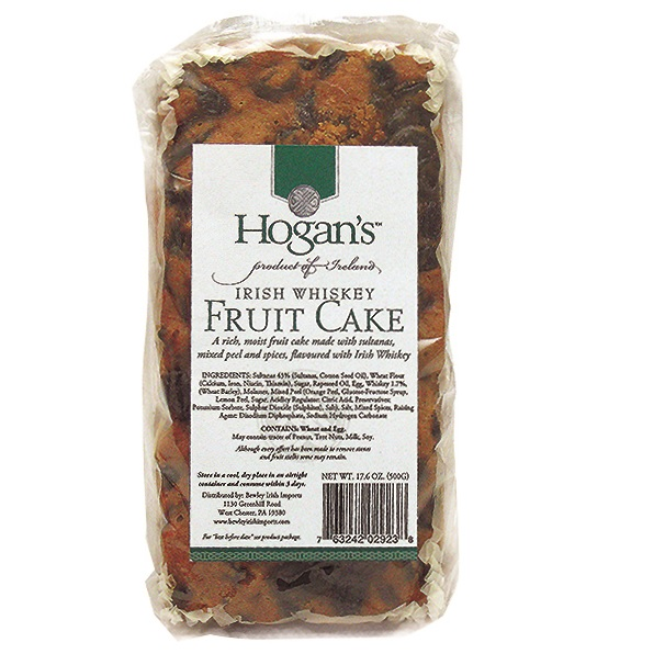 Hogan's Irish Whiskey Fruitcake