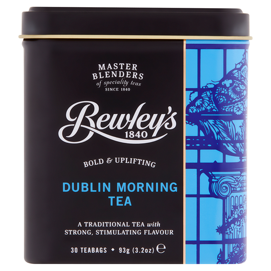 Bewley's Dublin Morning Tea – 30 Teabags In Tin