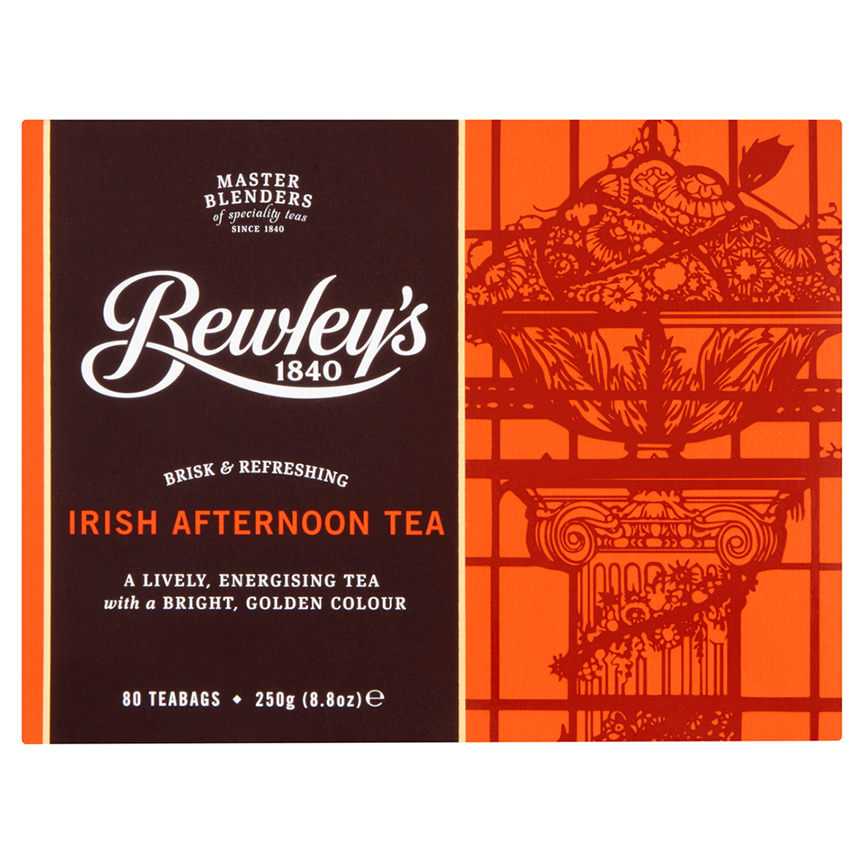 Bewley's Irish Afternoon Teabags 80 Ct