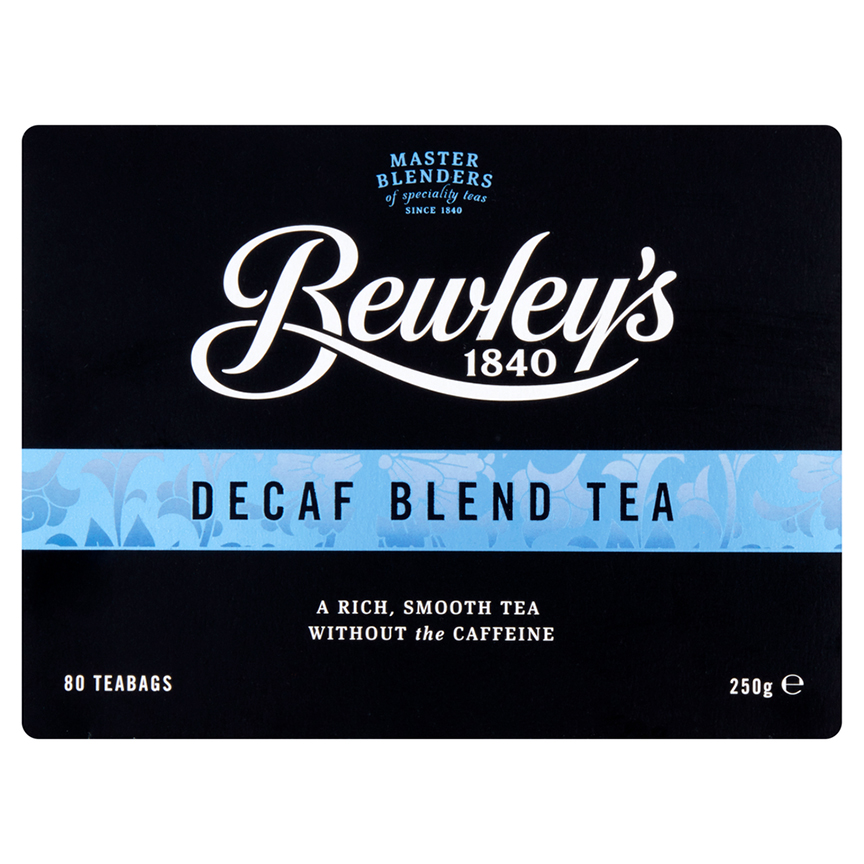 Bewley's Decaf Blend Tea – 80 Ct