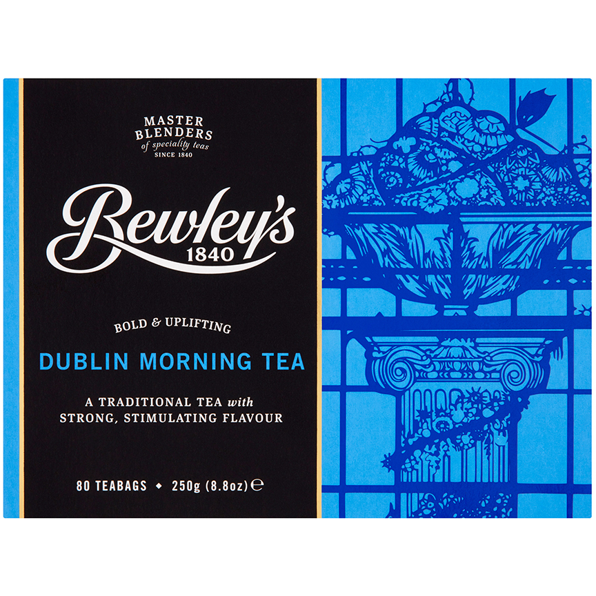 Bewley's Dublin Morning Teabags 80 Ct