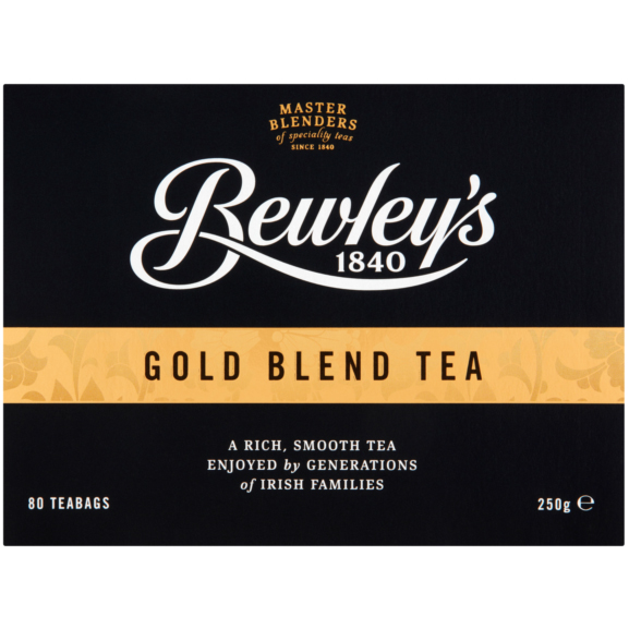 Bewley's Gold Blend Tea – 80 Ct
