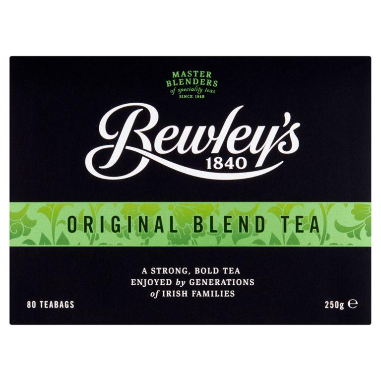 Bewley's Original Blend Tea Bags - 80 ct