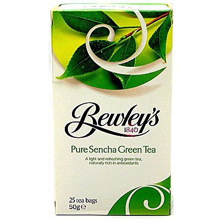Bewley's Sencha Green Tea Bags - 25 ct