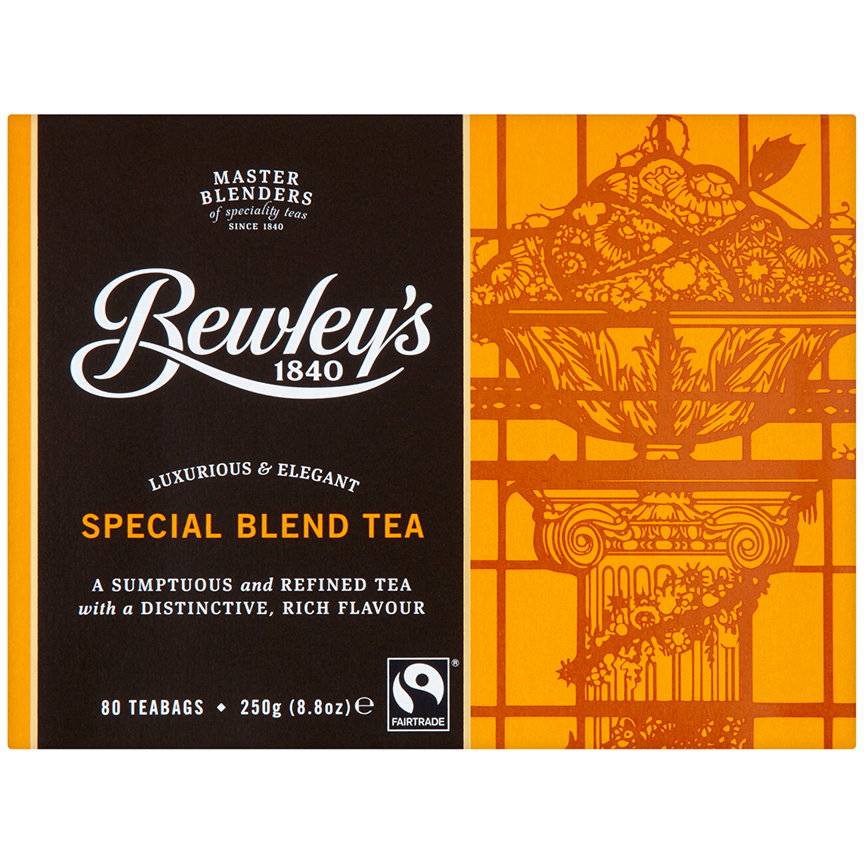 Bewley's Fairtrade Special Blend Tea – 80 Tea Bags
