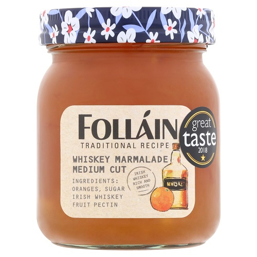 Folláin Whiskey Marmalade Medium Cut