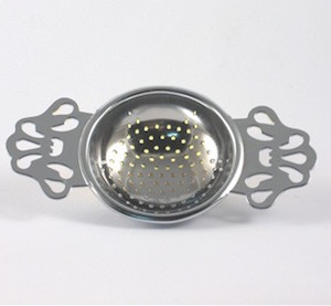 Chrome Tea Strainer
