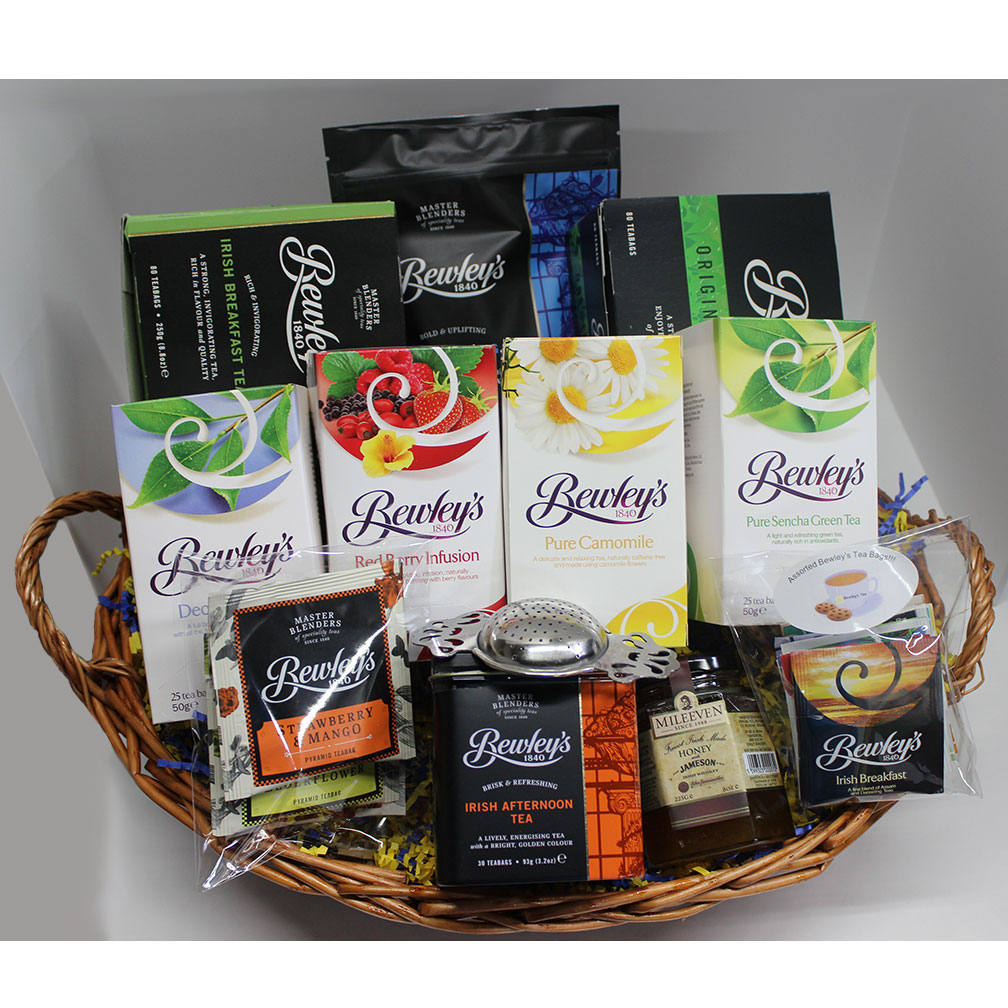 Bewley's Tea Lover Survival Basket