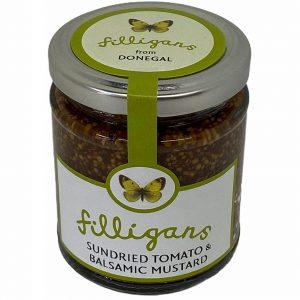 Filligans Sundried Tomato with Balsamic Vinegar Mustard