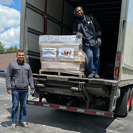 Bewley Irish Importers Loading Truck