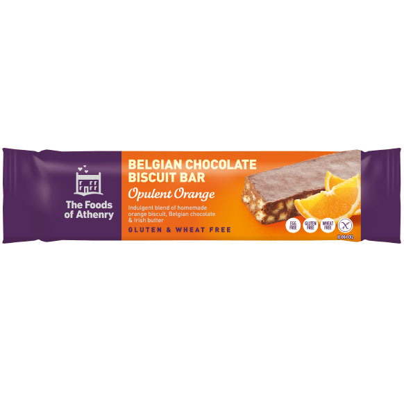 The Foods of Athenry - Belgian Chocolate Biscuit Bars – Opulent Orange