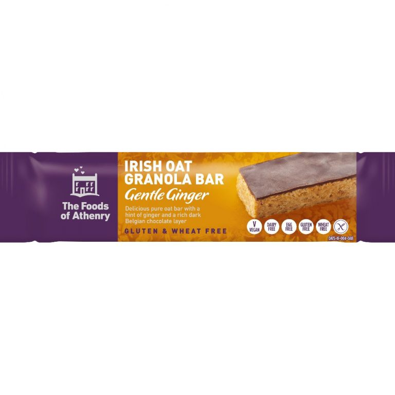 The Foods of Athenry - Irish Oat Granola Bars – Gentle Ginger