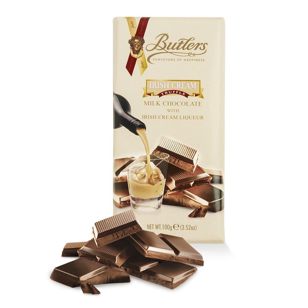 Butlers Milk Chocolate Irish Cream Tablet Bar
